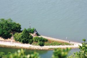 Blick auf Loreley Hills aus der Vogelperspektive