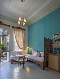 A seating area at Anatolia Charming Hotel