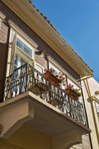 A balcony or terrace at Anatolia Charming Hotel