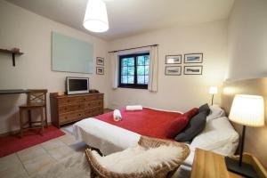 Posteľ alebo postele v izbe v ubytovaní Vila Helena Hrabovo - Studio Helena 5