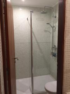 A bathroom at Alma N' Sleep