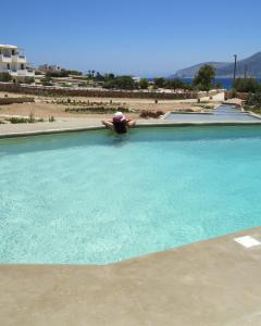 The swimming pool at or near Portes Houses