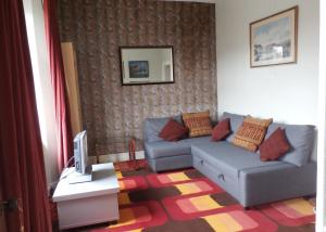 A seating area at Elm Bank Lodge Guest House