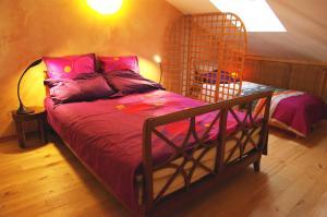 Un ou plusieurs lits dans un hébergement de l'établissement Ecologite les Sureaux