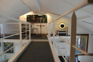 A bunk bed or bunk beds in a room at Loft Beaubourg - Marais