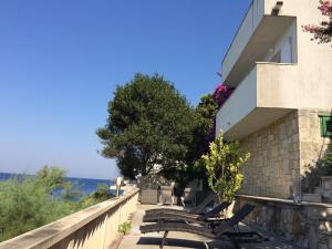 A balcony or terrace at Holiday Home Mala Duba
