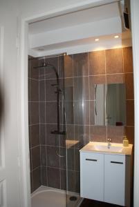 A bathroom at Le Gîte De Malaunay