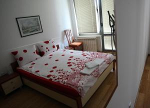 A bed or beds in a room at VIP-Rent Apartments