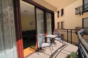 A balcony or terrace at Leda Apartments