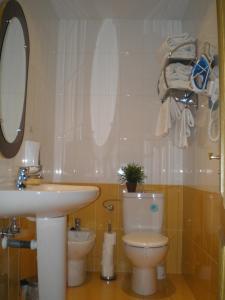 A bathroom at Apartamentos Turísticos Reyes Católicos