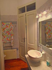 A bathroom at Villa Giardini