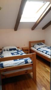 Postelja oz. postelje v sobi nastanitve Apartma Piran Tartini square