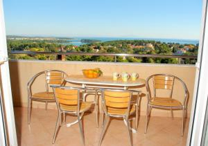 A balcony or terrace at Apartments Tanja