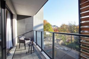 A balcony or terrace at Sweet Inn Apartments -EU Commission