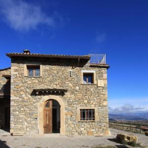 The facade or entrance of Casa Miret de Mur