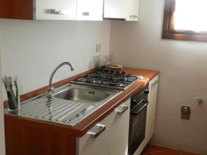 A kitchen or kitchenette at Villa Giada