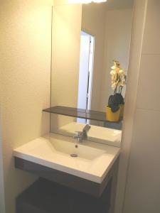 A bathroom at Montempô Apparthôtel Marseille Centre Euromed