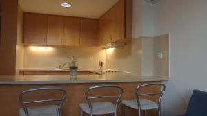 A cozinha ou kitchenette de Jardins da Ria