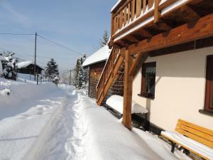 L'établissement Les Hauts de Brochot en hiver