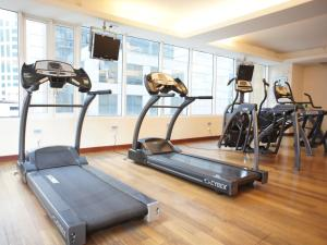 The fitness center and/or fitness facilities at A BEST Seri Bukit Ceylon Serviced Residence