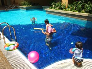 The swimming pool at or near A BEST Seri Bukit Ceylon Serviced Residence