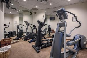 The fitness center and/or fitness facilities at Whistler Peak Lodge