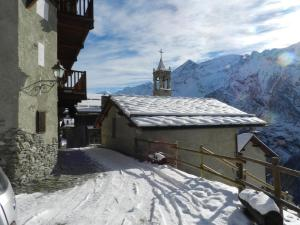 Chalet La Gerla during the winter
