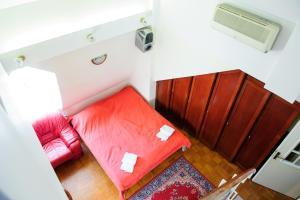 Postelja oz. postelje v sobi nastanitve Apartments Mihole - Vila Golf