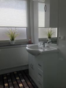 Ein Badezimmer in der Unterkunft Ferienwohnung DieEins
