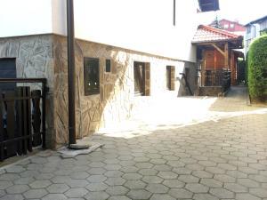 Veranda oz. zunanji predel v nastanitvi Apartment CDR