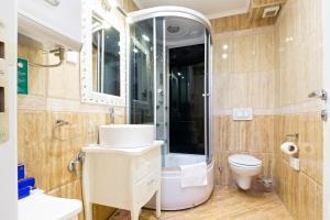 Kupatilo u objektu Lazar Lux Apartments