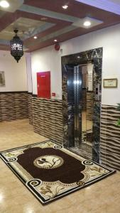 The lobby or reception area at Burj Al Balad Hotel Apartments