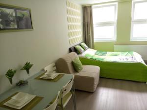 Un ou plusieurs lits dans un hébergement de l'établissement Apartment Villa Ksenija