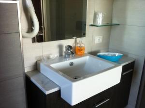 A bathroom at La Fattoria Apartments