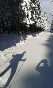 L'établissement La Grange du Bout du Chemin en hiver