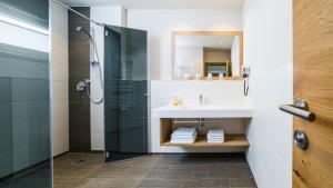Salle de bains dans l'établissement Luxapart