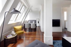 Zona de estar de Playa de La Concha 7 Apartment by FeelFree Rentals