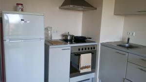 Köök või kööginurk majutusasutuses Monika Apartment