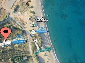 A bird's-eye view of Surf Beach Apartments