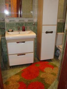 Ванная комната в Apartments Centr near Inturist