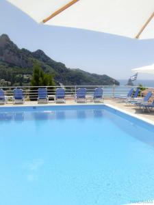Het zwembad bij of vlak bij Panorama Hotel