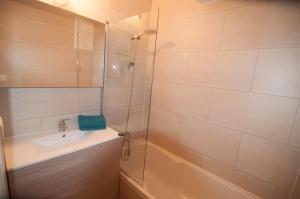 Een badkamer bij Apartment Duinenblik 3