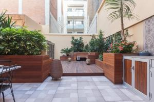 The lobby or reception area at Sunny Flat