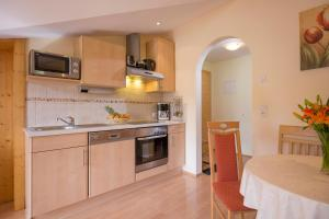 A kitchen or kitchenette at Appartement Irmgard