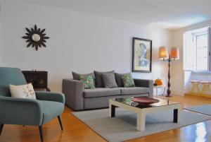 Area soggiorno di Ama Apartments
