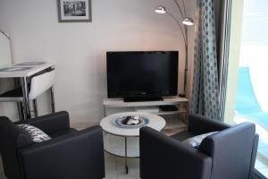 Lounge oder Bar in der Unterkunft Soazara