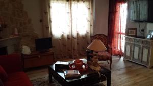 Area soggiorno di Appartamento sul Terminillo