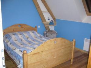 Un ou plusieurs lits dans un hébergement de l'établissement Les Collines Du Breuil