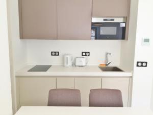 Küche/Küchenzeile in der Unterkunft Riviera home - Dalpozzo Lux