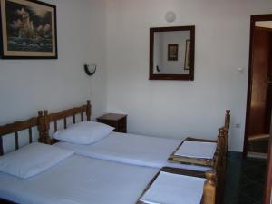 Apartments Svorcan 객실 침대